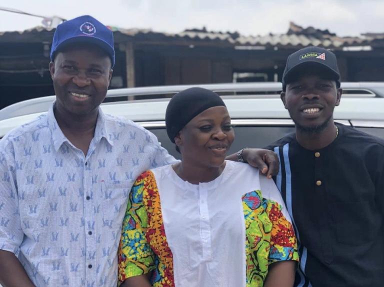 Nollywood veteran Joke Silva celebrates her husband, Olu