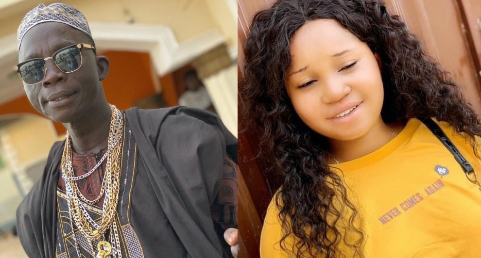 Agba Yahoo and Daughter