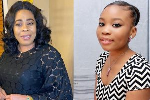 Toyin Adewale and Daughter