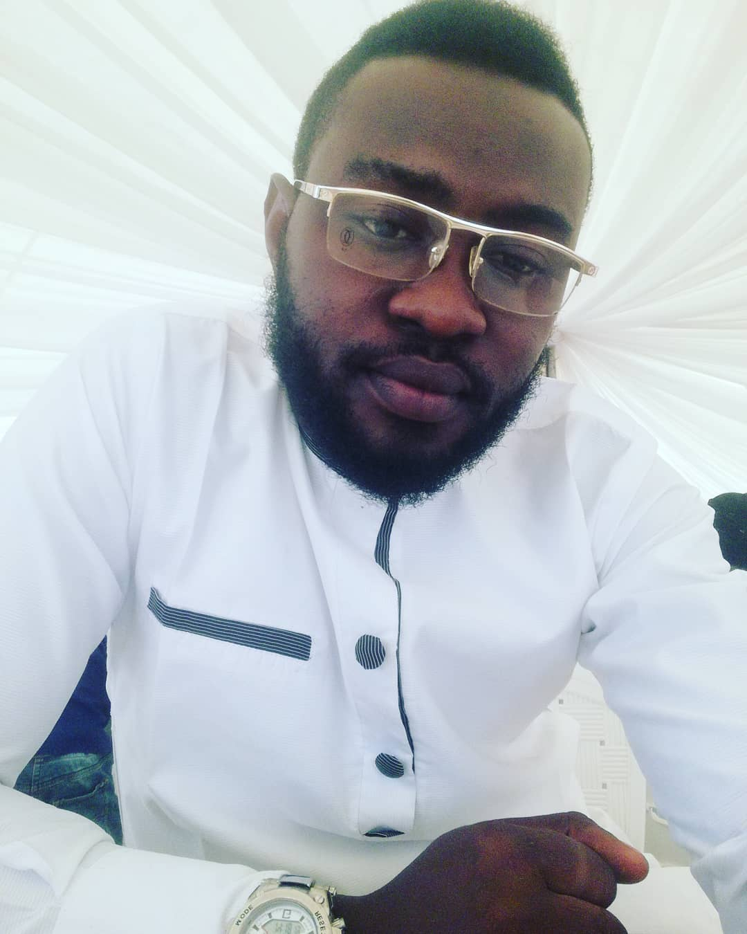 Here is Tijani, The Look Alike Son of Veteran Actor Kayode Aderupoko who is also an Actor
