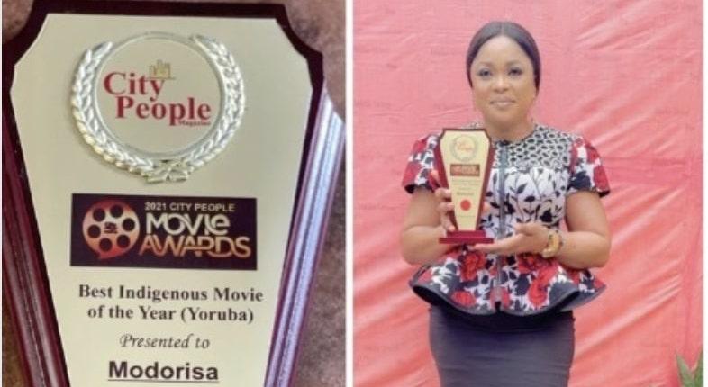 Kemi Afolabi wins award