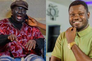 Baba Suwe and his Son, Adesola Omidina
