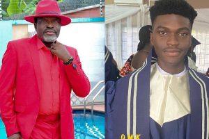 Kanayo O Kanayo and son
