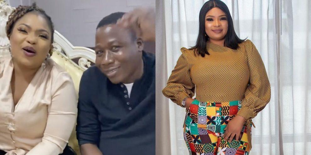 Laide Bakare with Sunday Igboho