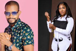 Uche Maduagwu and Mercy Johnson