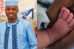 Woli Agba welcome baby boy