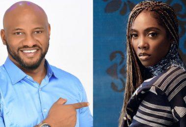 Yul Edochie and Tiwa Savage